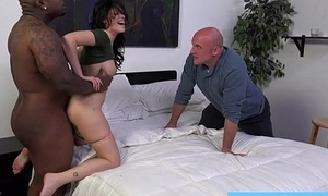 English slut wife engulfing on black masters cock