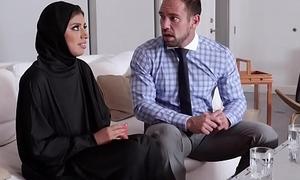 Hot Muslim teen getting fuck doggystyle